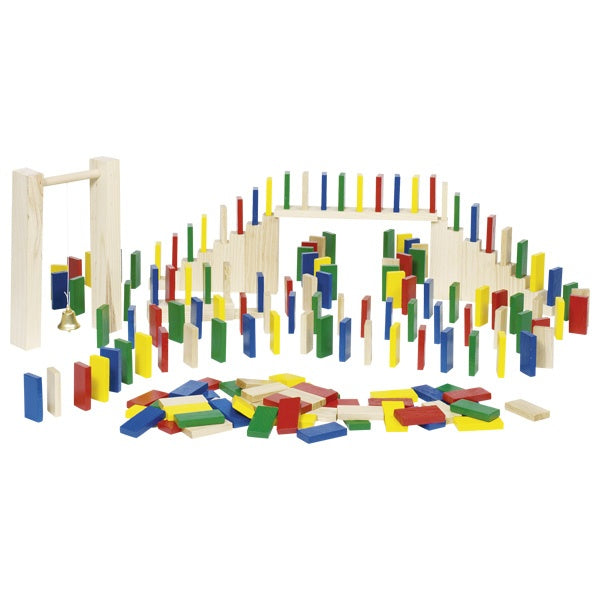 Wooden Domino Rally Set