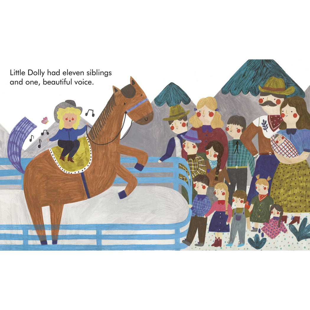 Little People Big Dreams: Dolly Parton Board Book