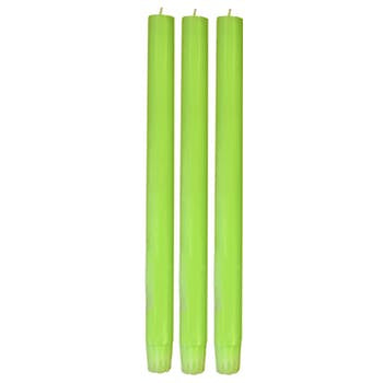 Neon Green Dinner Candle