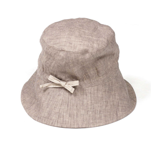 Natural Linen Bucket Hat