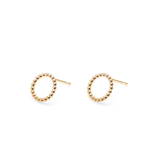 Mini Circle Ball Stud Earrings