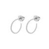Mini Ball Hoop Earrings