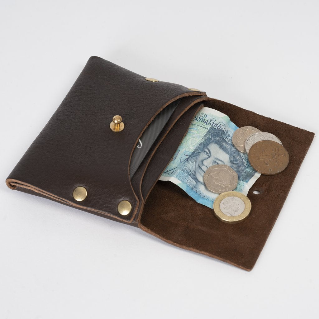 Chocolate Brown Leather Wallet