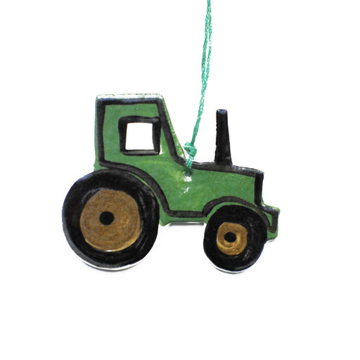 Tractor Ceramic Decoration