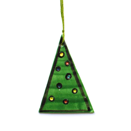 Christmas Tree Ceramic Decoration