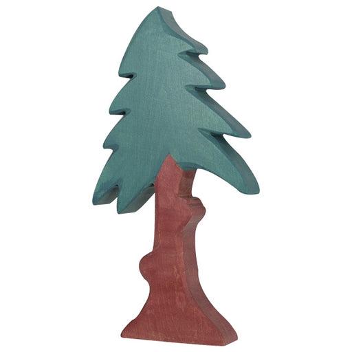 Wooden Conifer with Crown