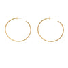 Etch Hoop Earrings
