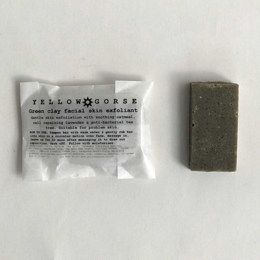 Green Clay Facial Exfoliating Bar