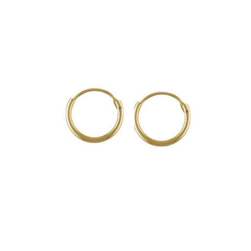 Small 9ct Gold Hoop Earrings