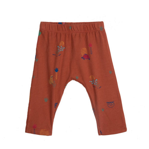 Red Clay Jungle Printed Baby Leggings