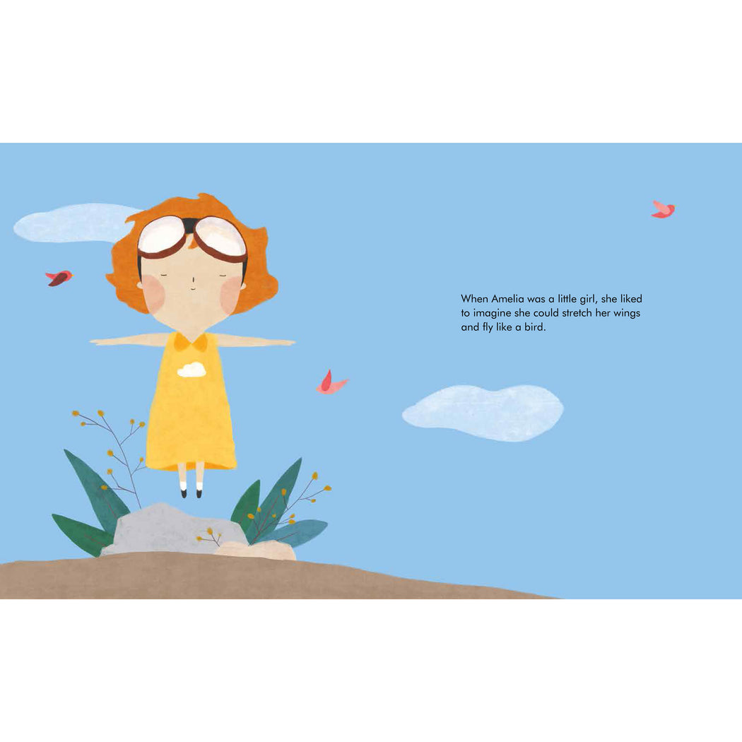 Little People Big Dreams: Amelia Earhart Board Book