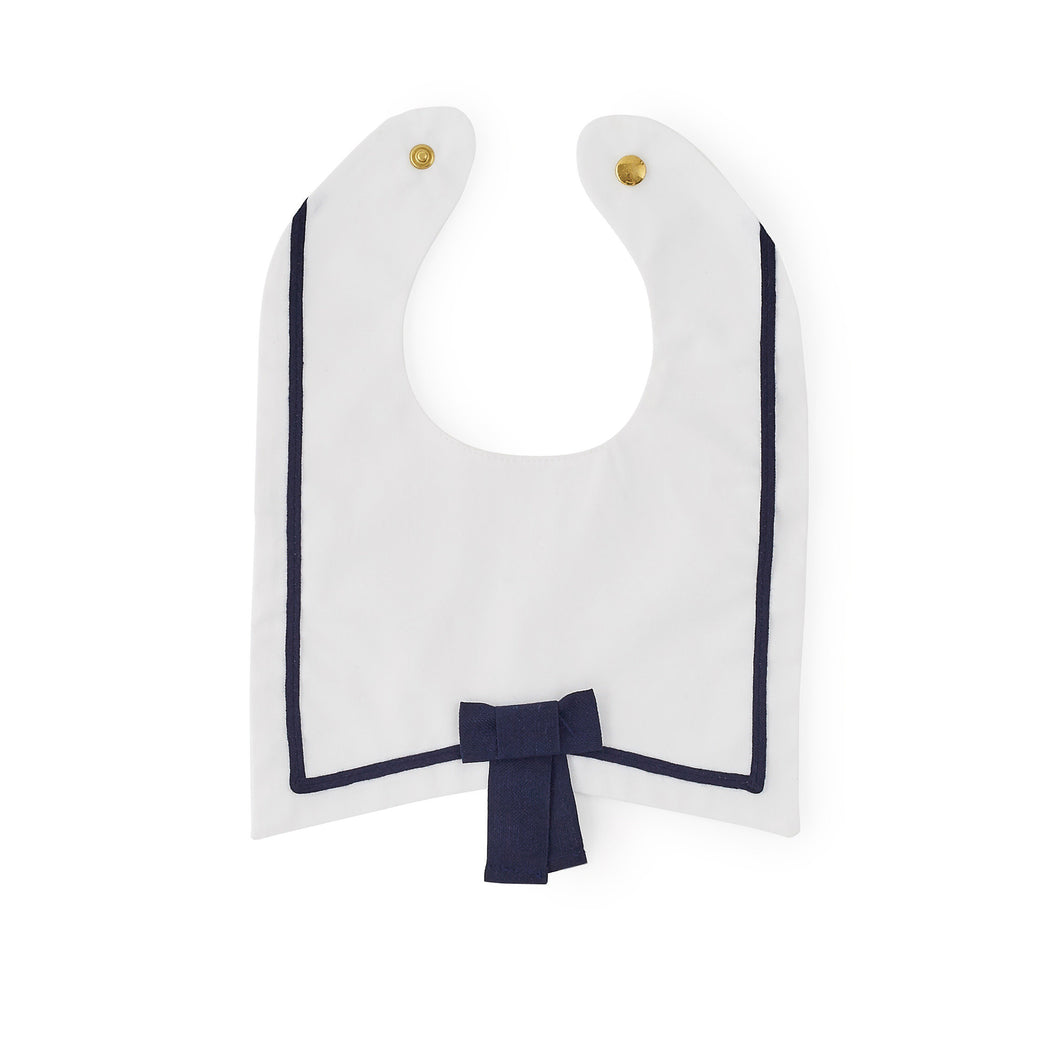 Sailor Bib with Bow Tie