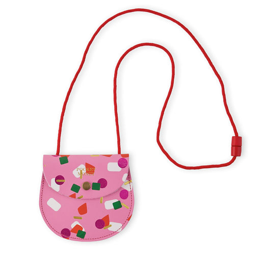 Pink Tutti Frutti Pocket Money Purse