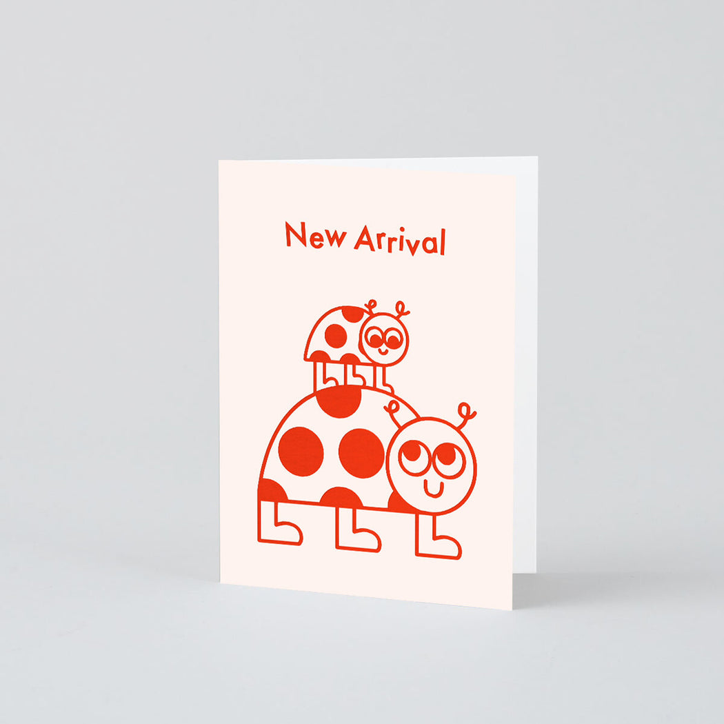 New Arrival Ladybird Mini Foiled Card