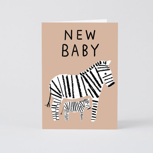 New Baby Zebras Card