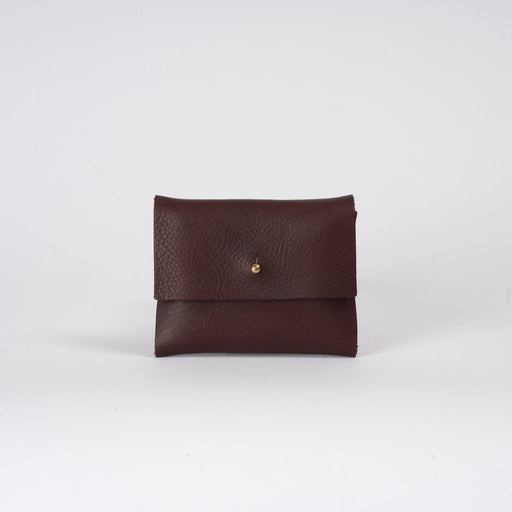 Plum Leather Wallet