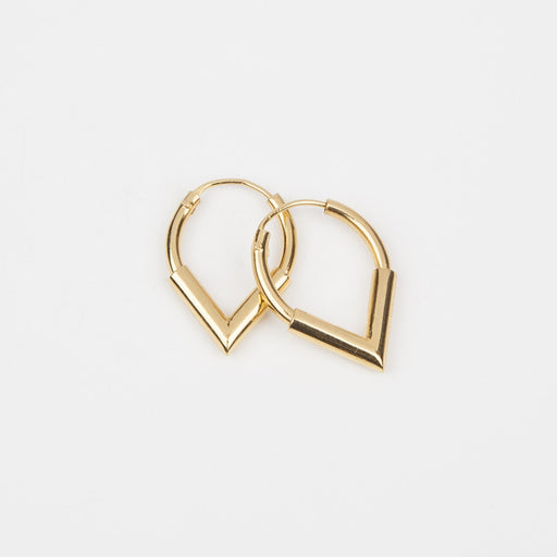 Small Point Earrings