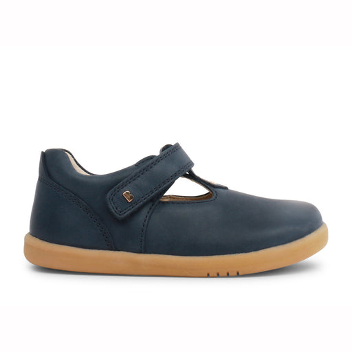 Bobux Navy Step Up T-Bar Shoes