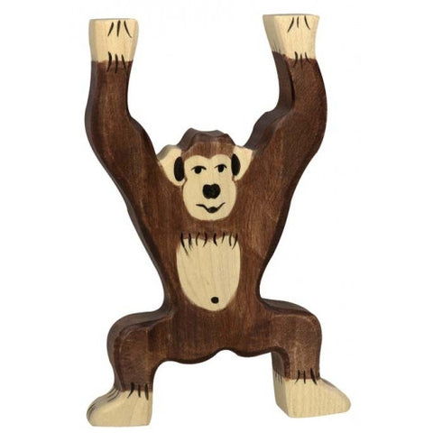 Wooden Chimpanzee