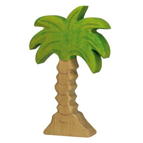 Wooden Small Palm Tree