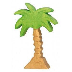 Wooden Medium Palm Tree