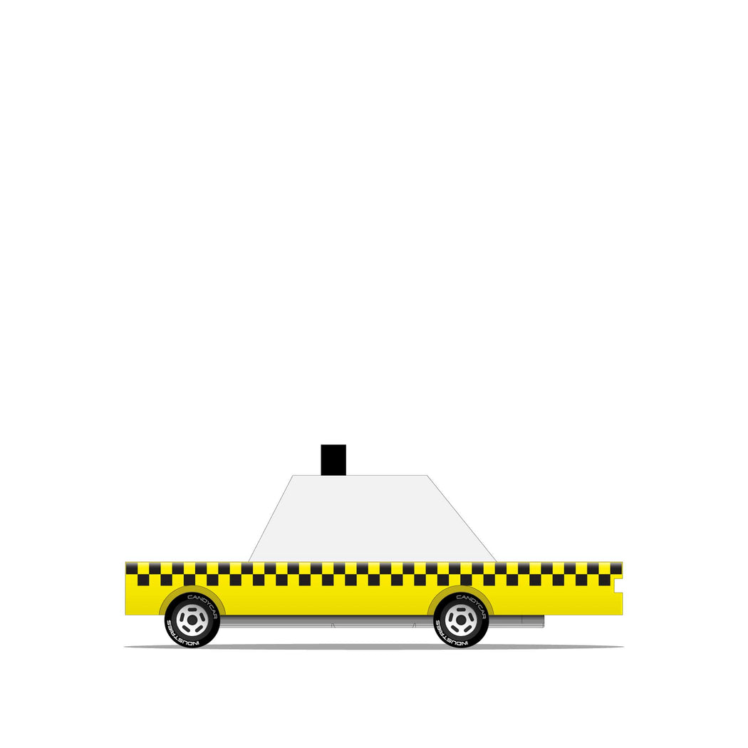 Yellow Taxi Candycar