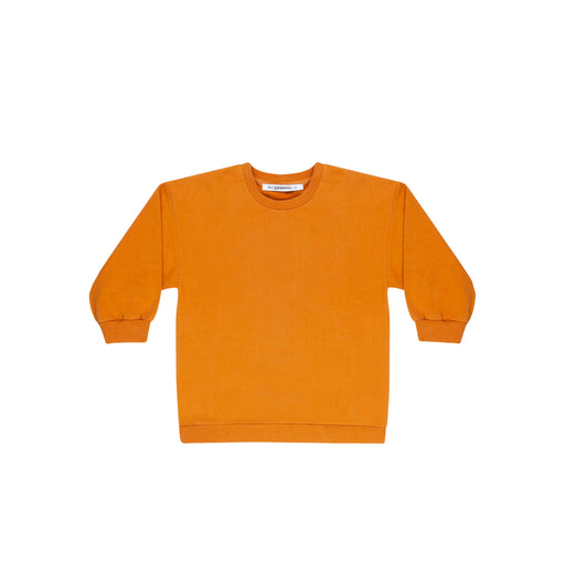 Kids Orange Oversized Sweater