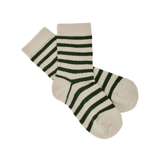 Forest Green Stripe Socks