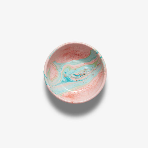Blush Marble Enamel Bowl