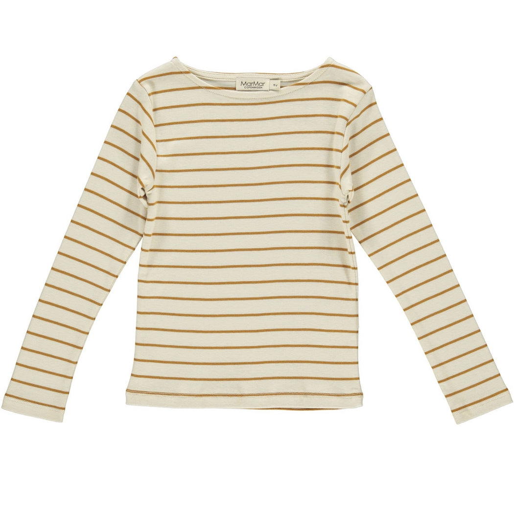 Pumpkin Pie Stripe Kids T-Shirt