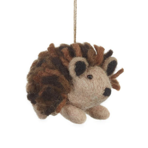 Felt Hedgehog Hanging Decoration
