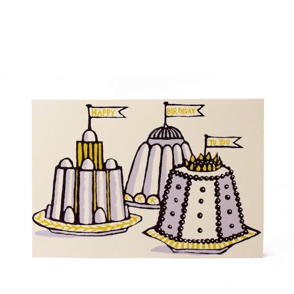 Birthday Puddings Card
