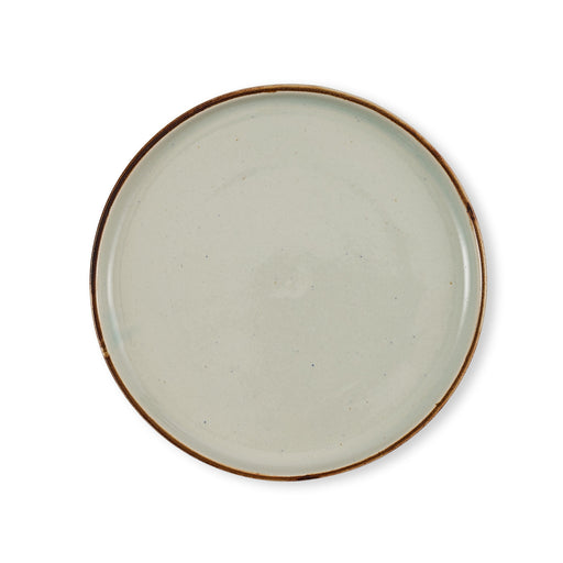 Green Round Plate