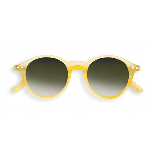 Yellow Chrome #D Sunglasses