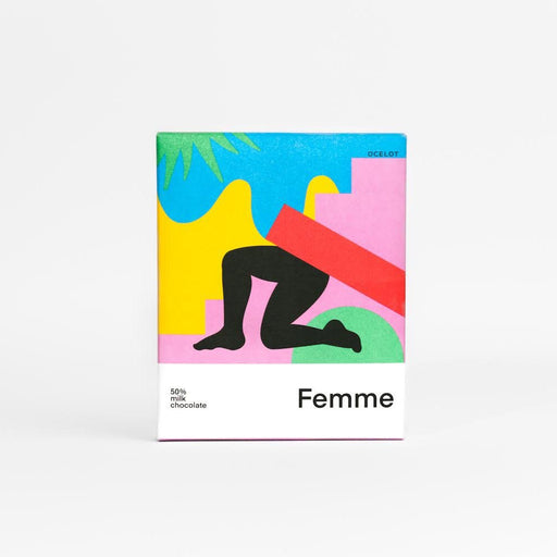 Femme Dark Milk Chocolate Bar
