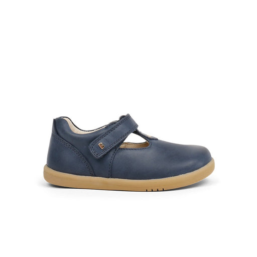 Bobux Navy I-Walk T-Bar Shoes