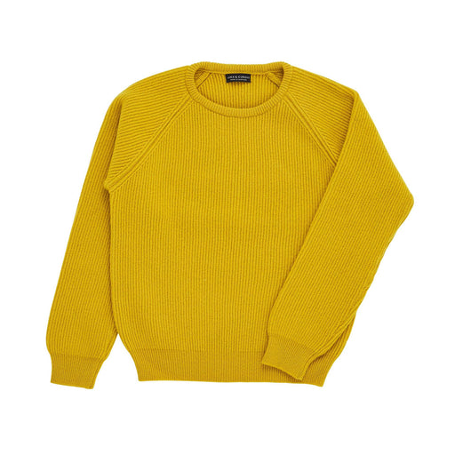 Mustard Yellow Rib Knit Jumper