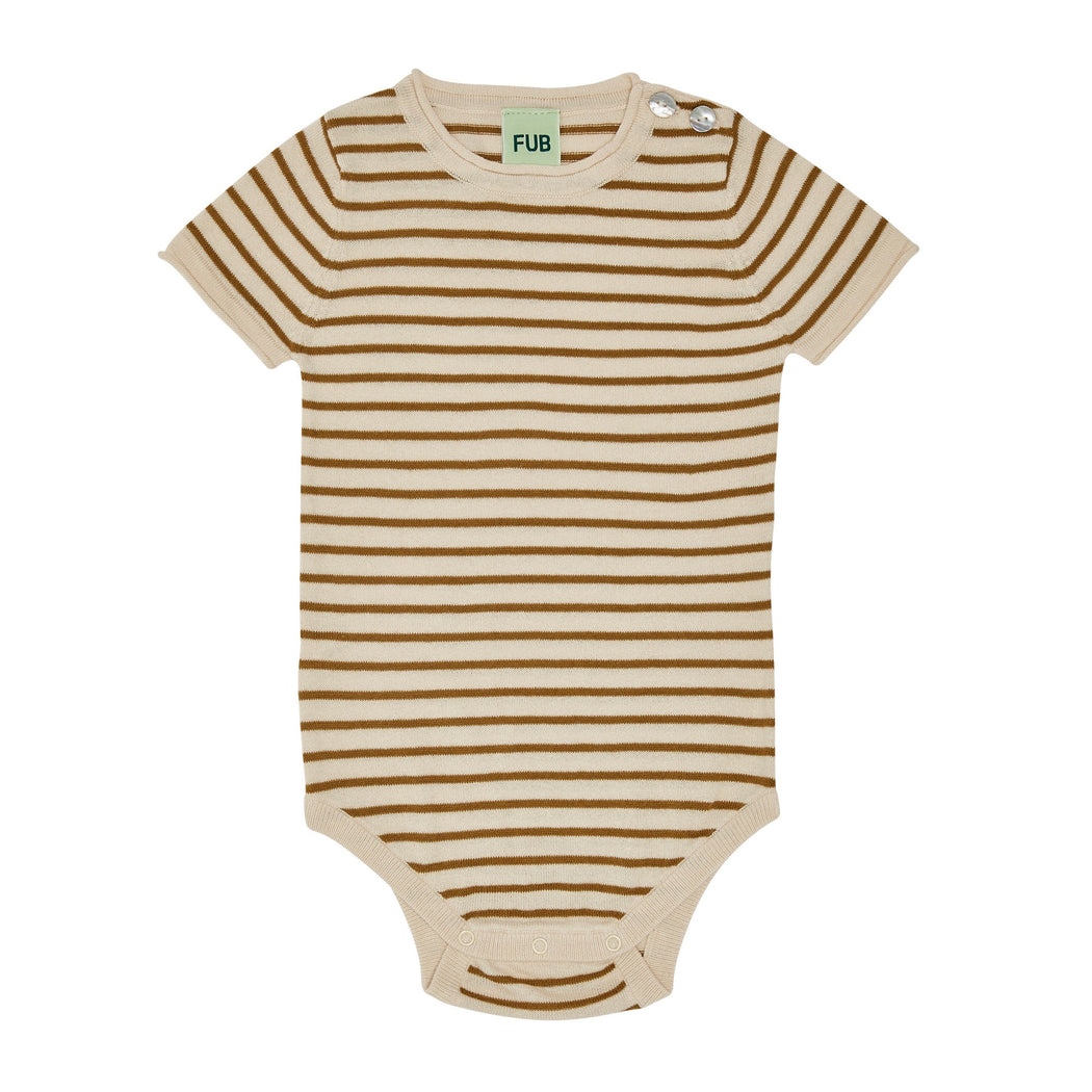 Sienna Stripe Short Sleeve Baby Body