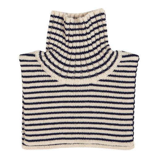Kids Navy Stripe Neck Warmer