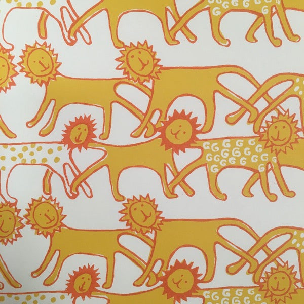 Lions Wrapping Paper