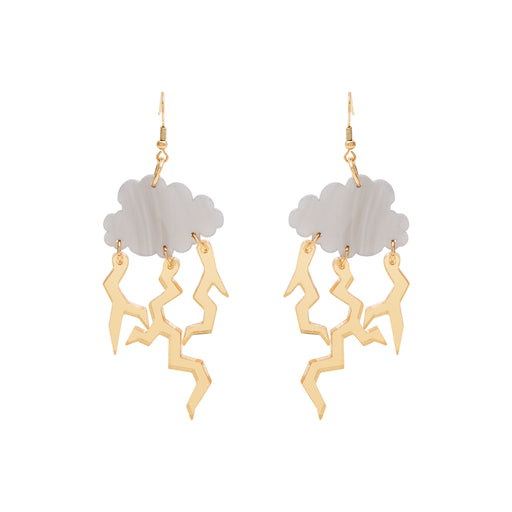 Thunderstorm Cloud Earrings