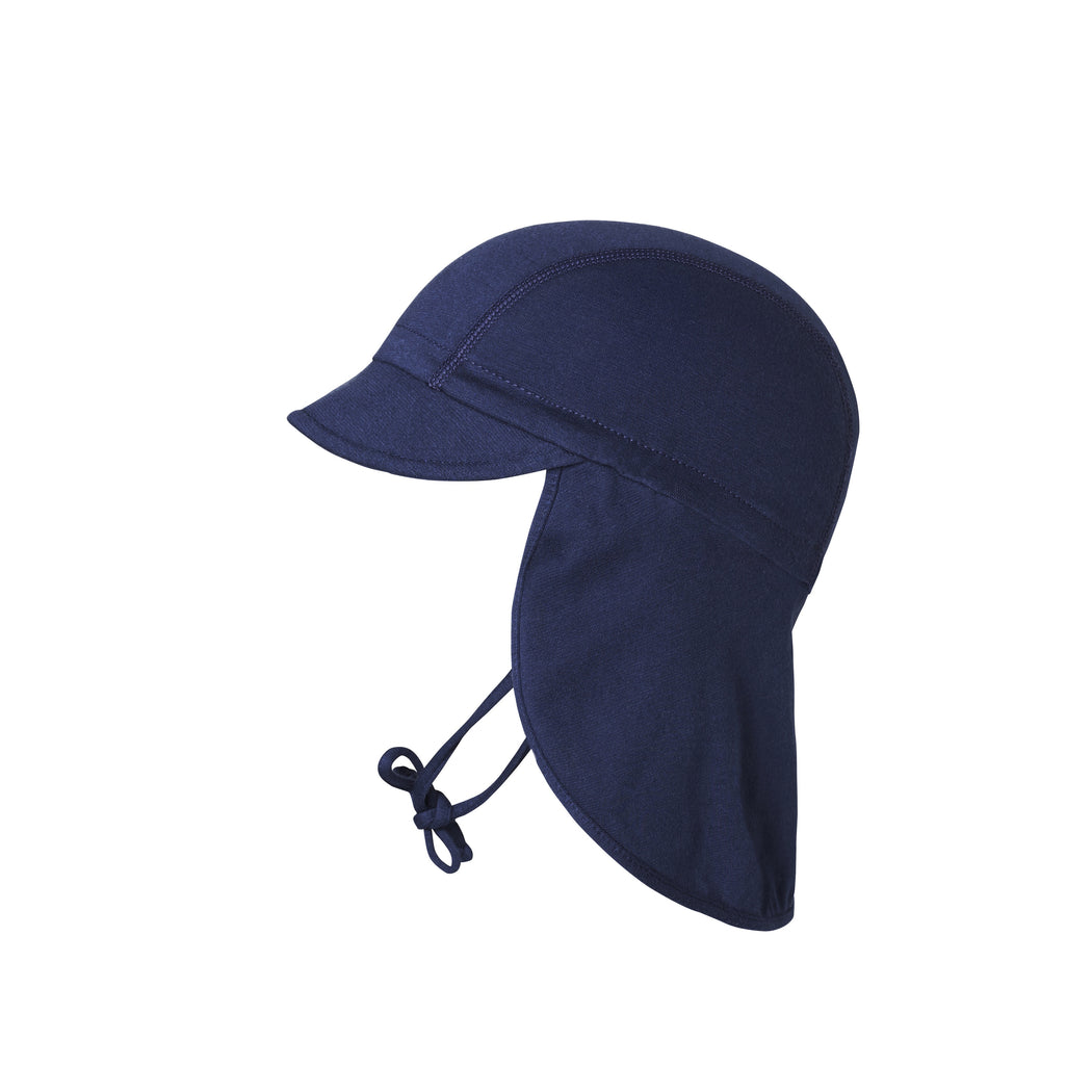 Dark Navy Cap with Neck Shade