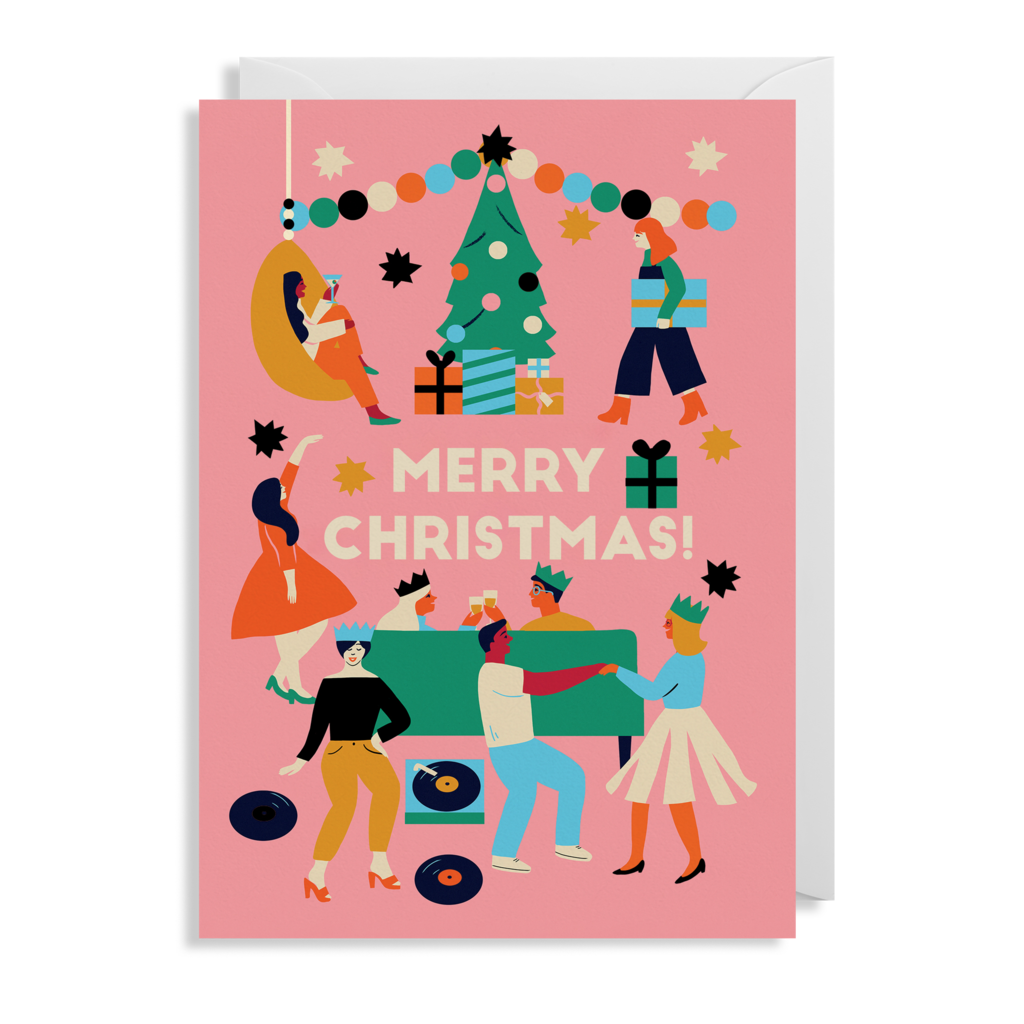 Merry Christmas Card 5 Pack