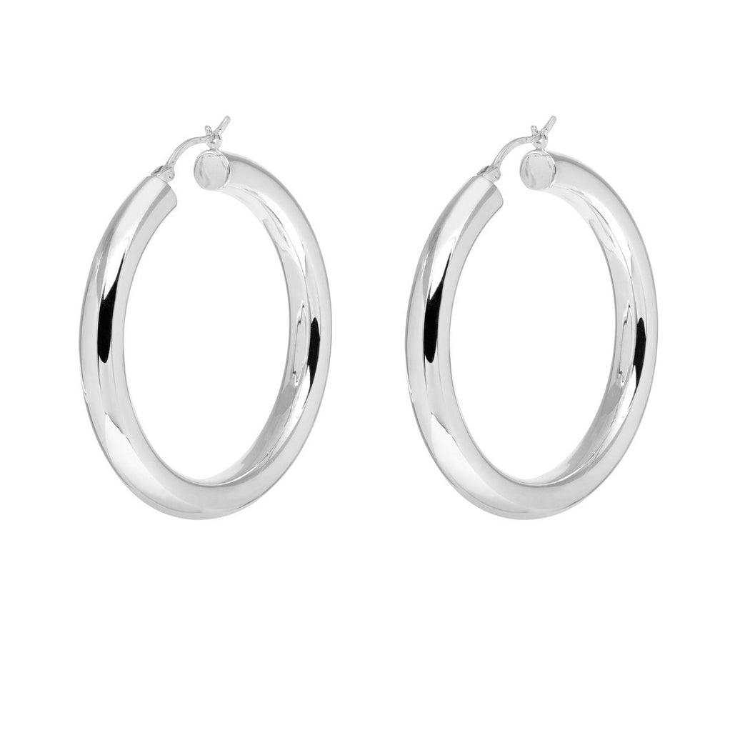 Saros Hoop Earrings
