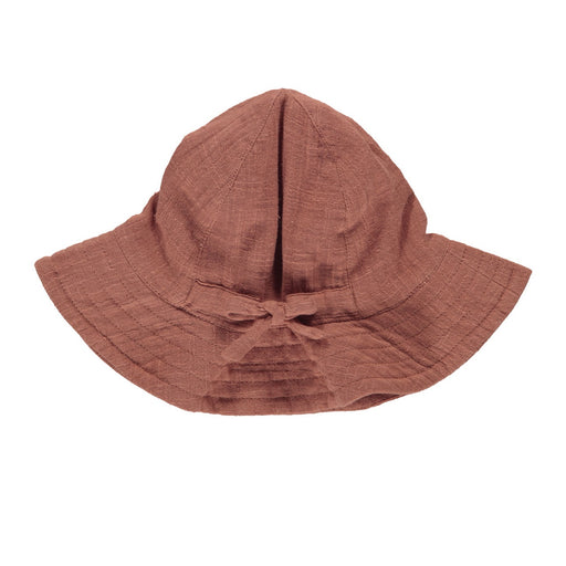 Dusty Brick Muslin Kids Hat