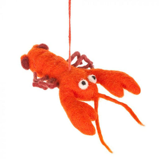 Felt Lobster Hanging Decoration
