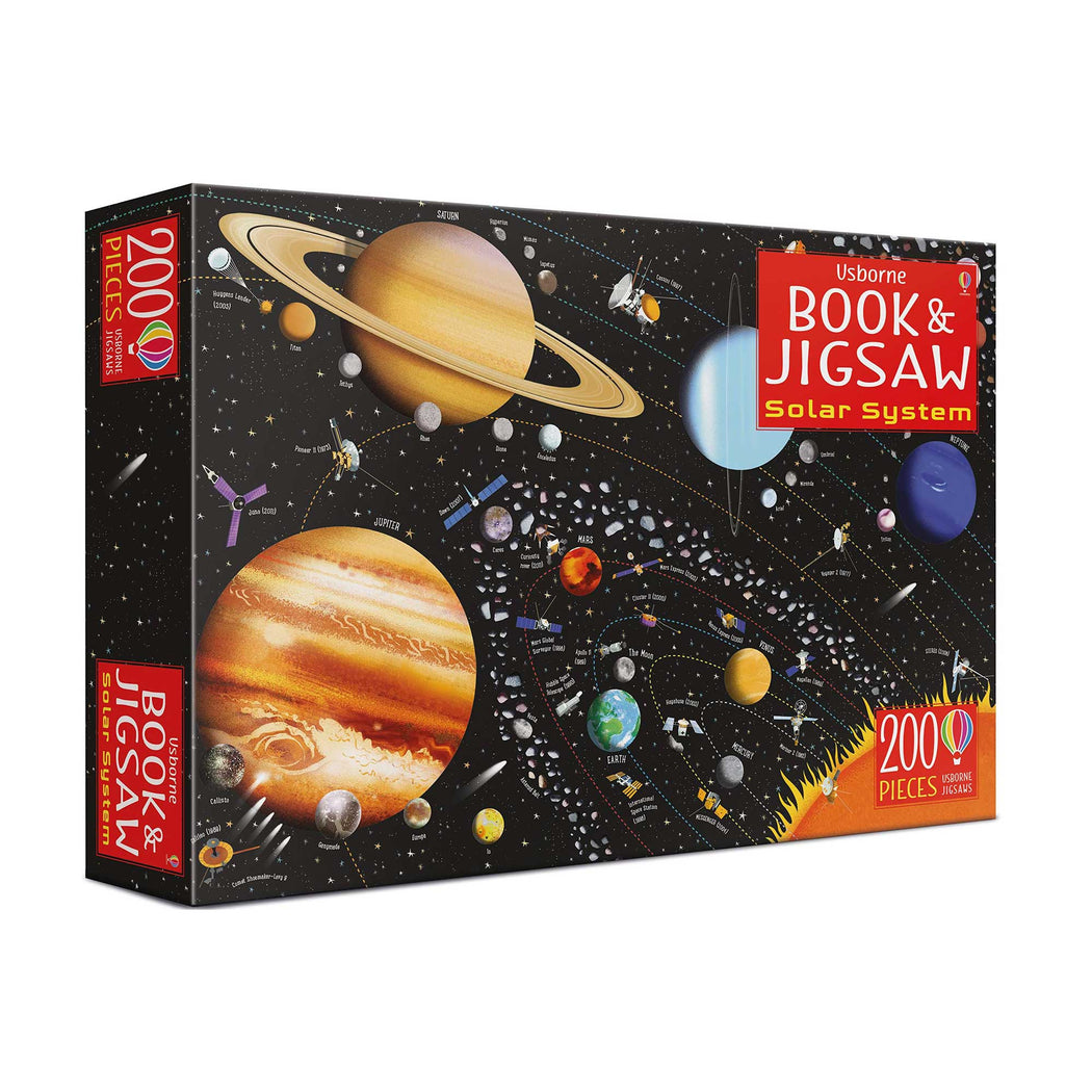 The Solar System: Book and Jigsaw