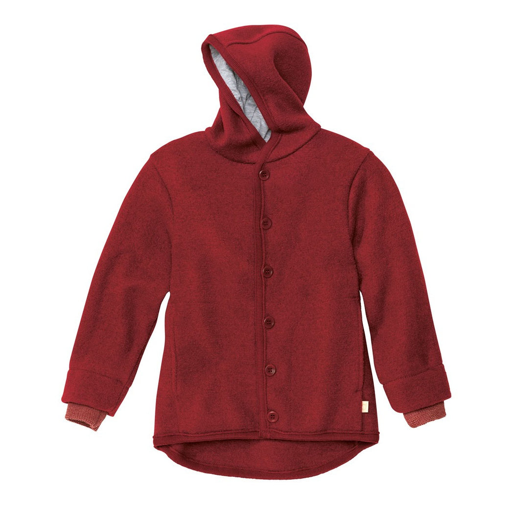 Bordeaux Wool Kids Jacket