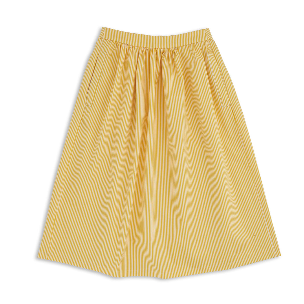Yellow Stripy Skirt