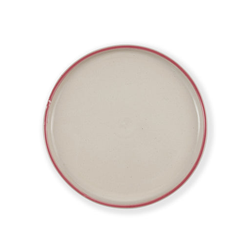 Rose Pink Round Plate